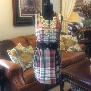 Twenty-one, plaid dress, Size Medium